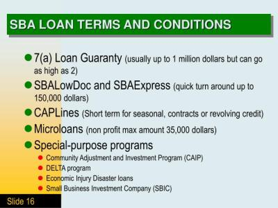 PPT - COMMERCIAL LENDING PowerPoint Presentation - ID:3806119