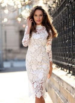 Small Of Long Lace Dress