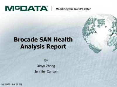 PPT - Brocade SAN Health Analysis Report PowerPoint Presentation - ID:5695299