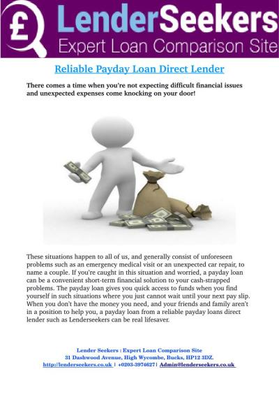 PPT - Payday Loan Direct Lender Get You a Payday Loan on Time PowerPoint Presentation - ID:7337628