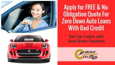 PPT - How To Get Zero Down Auto Loans With Bad Credit PowerPoint Presentation - ID:7427670