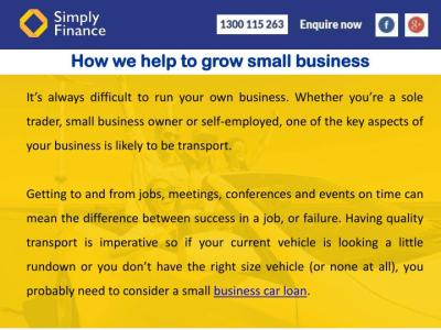 PPT - Small Business Car Loans In Melbourne PowerPoint Presentation - ID:7588003