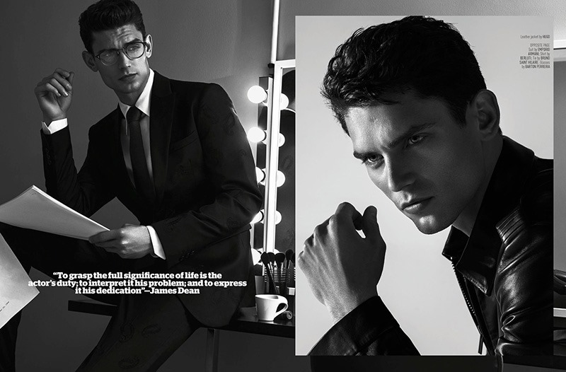 AUGUST MAN MAGAZINE Arthur Gosse by Anthony Meyer. Sonia Logerot, April 2016, www.imageamplified.com, Image amplified (4)