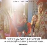 CAMPAIGN: Gucci for Net-A-Porter 2016