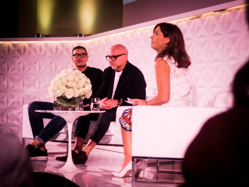 IA UPDATE Domenico Dolce & Stefano Gabbana, Dolce & Gabbana's Italian Journe with Alexandra Shulman at Vogue Festival 2016 by Troy Wise & Rick Guzman. www.imageamplified.com, Image Amplified (32)