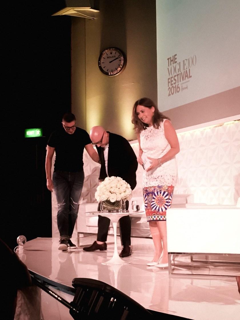 IA UPDATE Domenico Dolce & Stefano Gabbana, Dolce & Gabbana's Italian Journe with Alexandra Shulman at Vogue Festival 2016 by Troy Wise & Rick Guzman. www.imageamplified.com, Image Amplified (10)