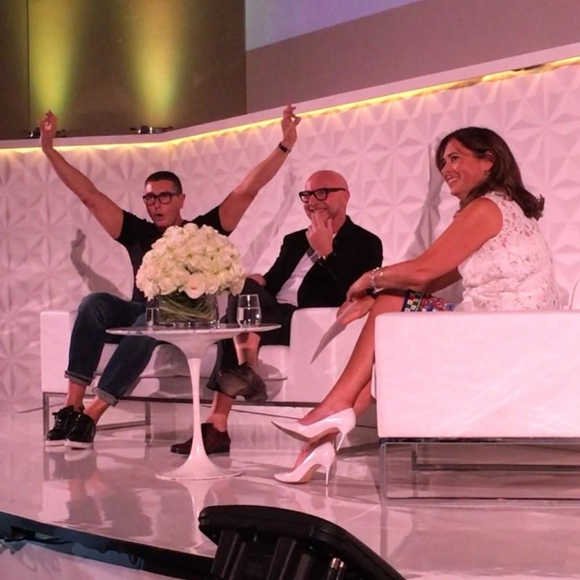 IA UPDATE Domenico Dolce & Stefano Gabbana, Dolce & Gabbana's Italian Journe with Alexandra Shulman at Vogue Festival 2016 by Troy Wise & Rick Guzman. www.imageamplified.com, Image Amplified (24)
