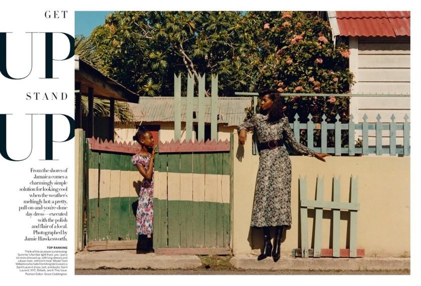 VOGUE MAGAZINE Tami Williams & Lineisy Montero by Jamie Hawkesworth. Grace Coddington, June 2016, www.imageamplified.com, Image Amplified (7)
