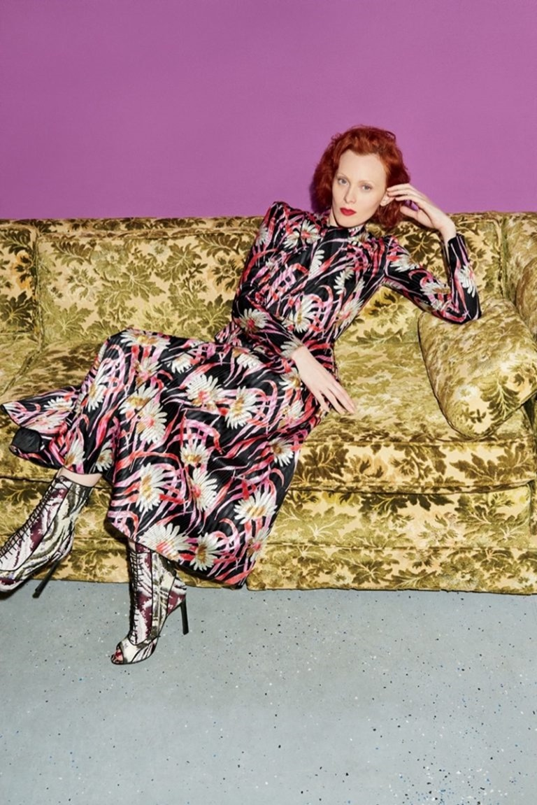 BERGDORF GOODMAN Karen Elson by Tung Walsh. Pre-Fall 2016, www.imageamplified.com, Image Amplified (1)
