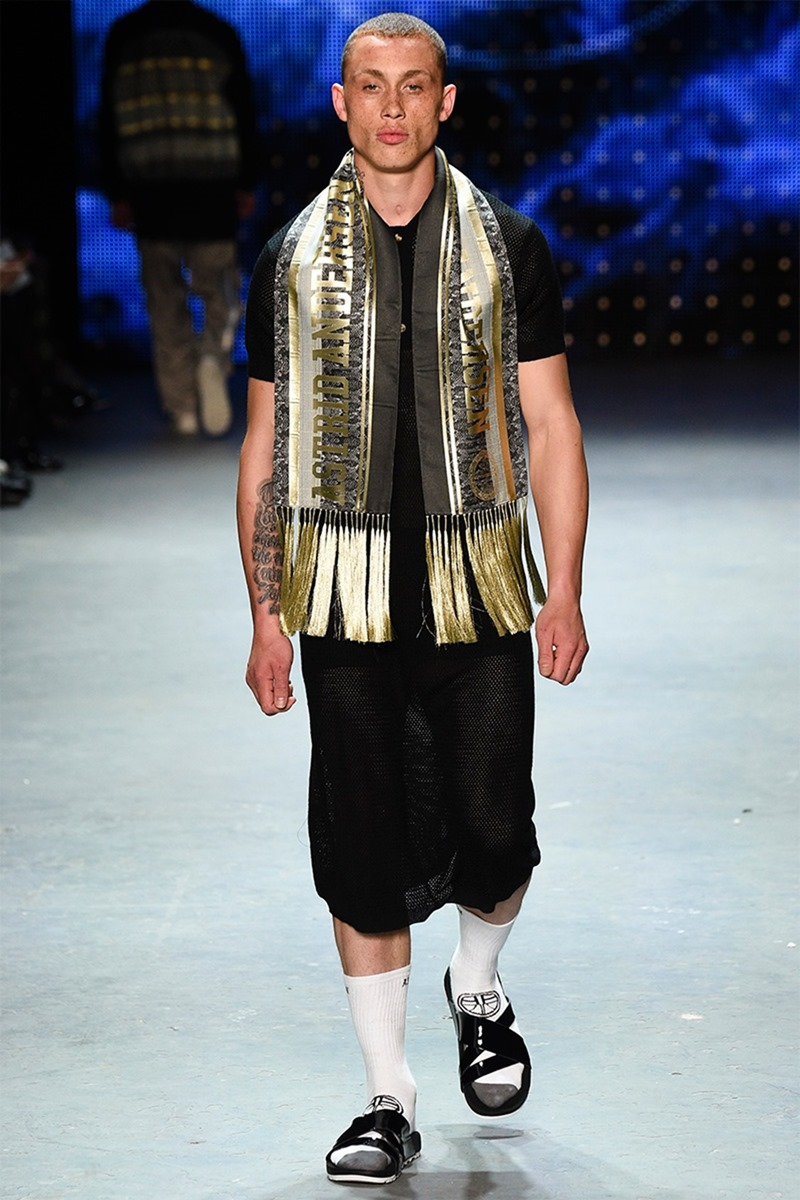 LONDON COLLECTIONS MEN Astrid Andersen Spring 2017. www.imageamplified.com, Image Amplified (3)