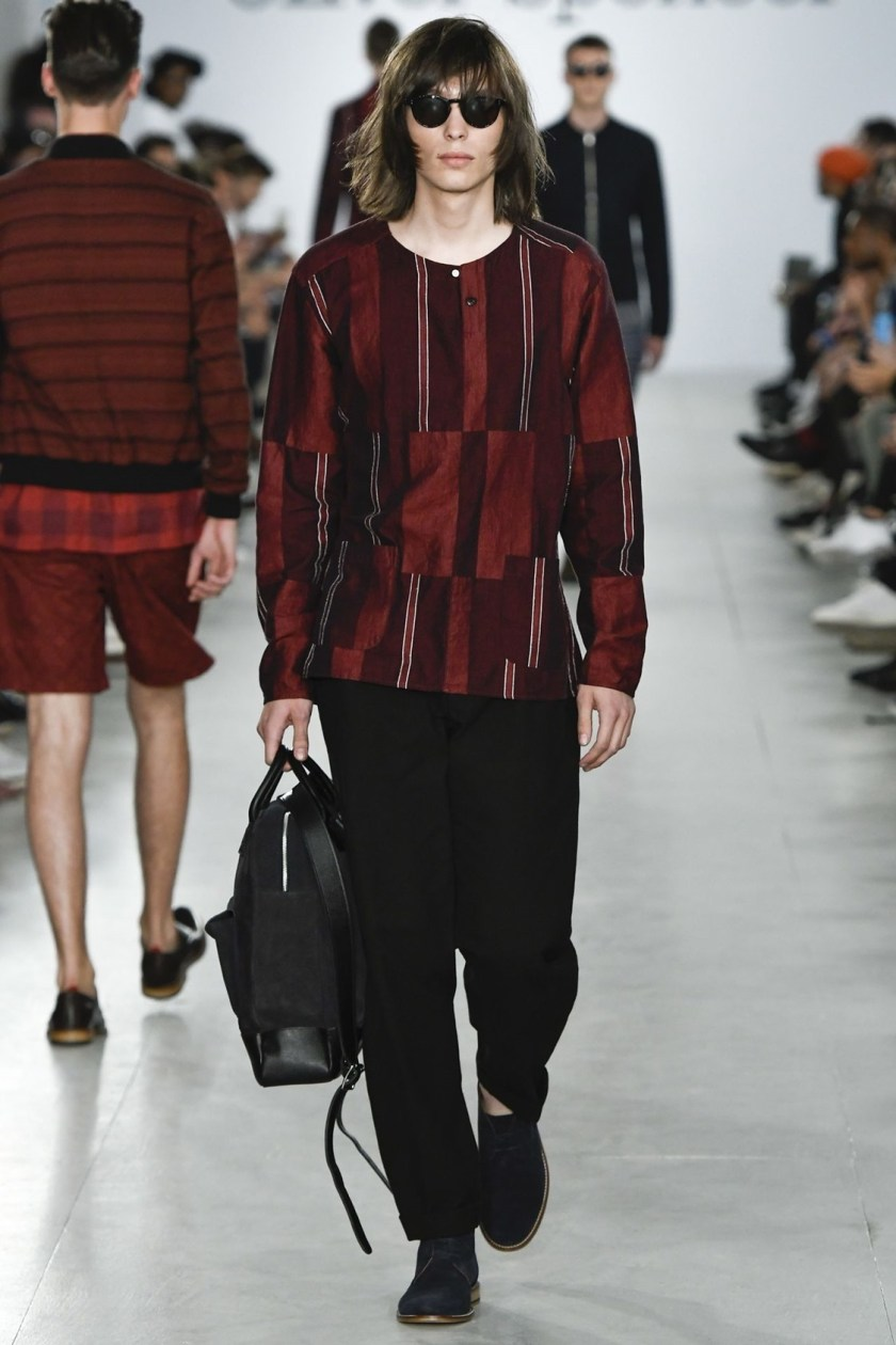 LONDON COLLECTIONS MEN Oliver Spencer Spring 2017. www.imageamplified.com, Image Amplified (15)