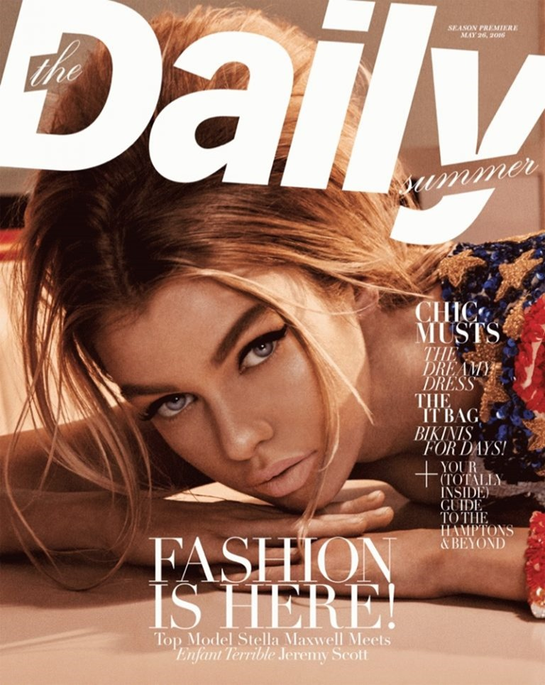 THE DAILY SUMMER Stella Maxwell by Giampaolo Sgura. Summer 2016, www.imageamplified.com, Image Amplified (1)