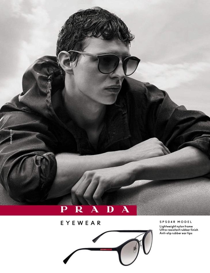 CAMPAIGN Tim Schuhmacher for Prada Eyewear 2016 by Craig McDean. www.imageamplified.com, Image Amplified (3)