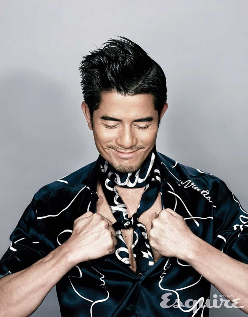 ESQUIRE HONG KONG Aaron Kwok by KAON. Mariane Chan, Spring 2016, www.imageamplified.com, Image Amplified