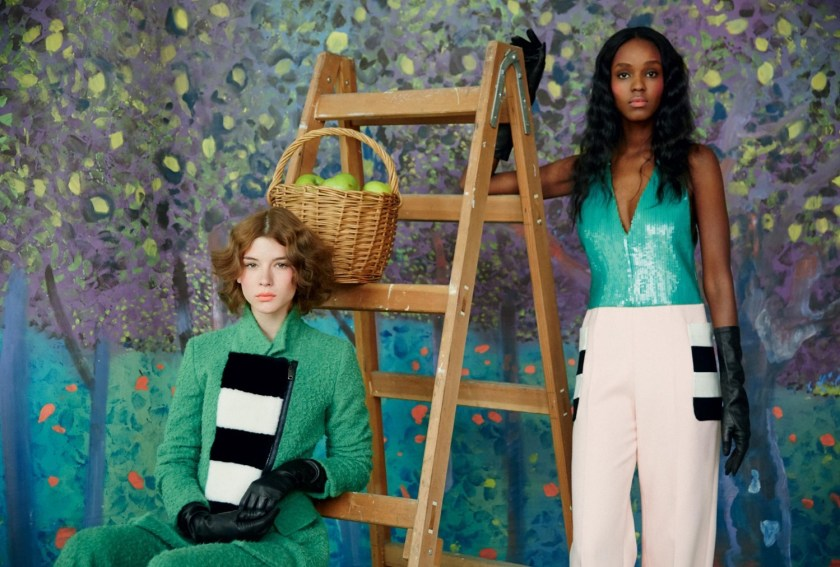 HARPER'S BAZAAR UK A Fresh Look At Fashion by Erik Madigan Heck. Leith Clark, August 2016, www.imageamplified.com, Image Amplified (10)