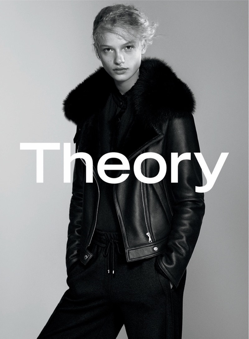 CAMPAIGN Frederikke Sofie & Binx Walton for Theory Fall 2016 by David Sims. www.imageamplified.com, image amplified6