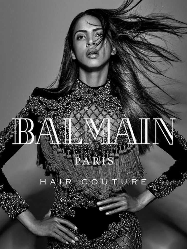 CAMPAIGN Noemie Lenoir for Balmain hair Couture Fall 2016 by Jean-Baptiste Mondino. www.imageamplified.com, Image Amplified (2)