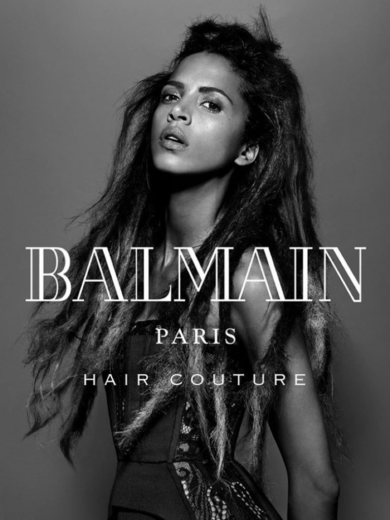 CAMPAIGN Noemie Lenoir for Balmain hair Couture Fall 2016 by Jean-Baptiste Mondino. www.imageamplified.com, Image Amplified (3)