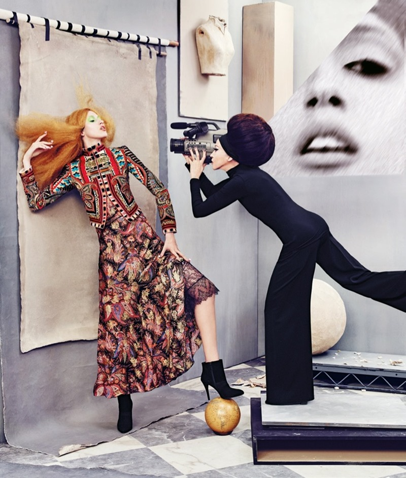 CAMPAIGN Pat & Anna Cleveland for Neiman Marcus Fall 2016 by Ruven AFanador. www.imageamplified.com, Image Amplified (14)