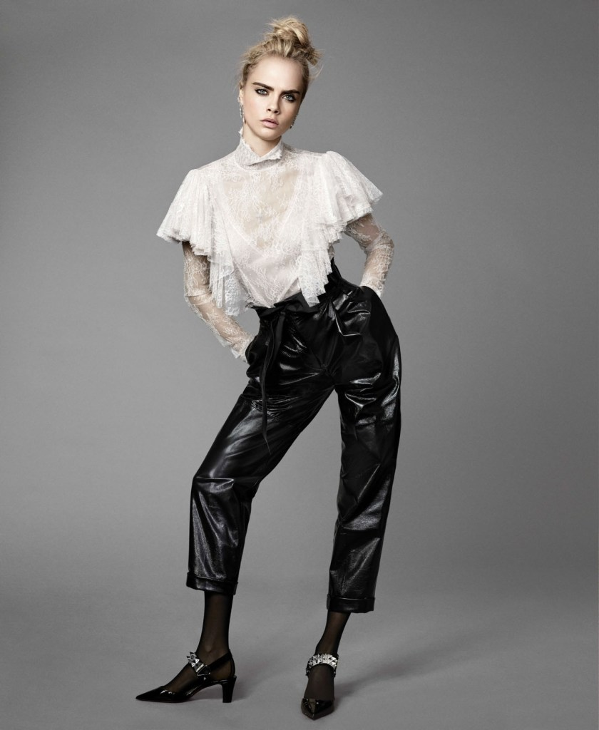 ELLE MAGAZINE Cara Delevingne by Terry Tsiolis. Samira Nasr, September 2016, www.imageamplified.com, Image Amplified10