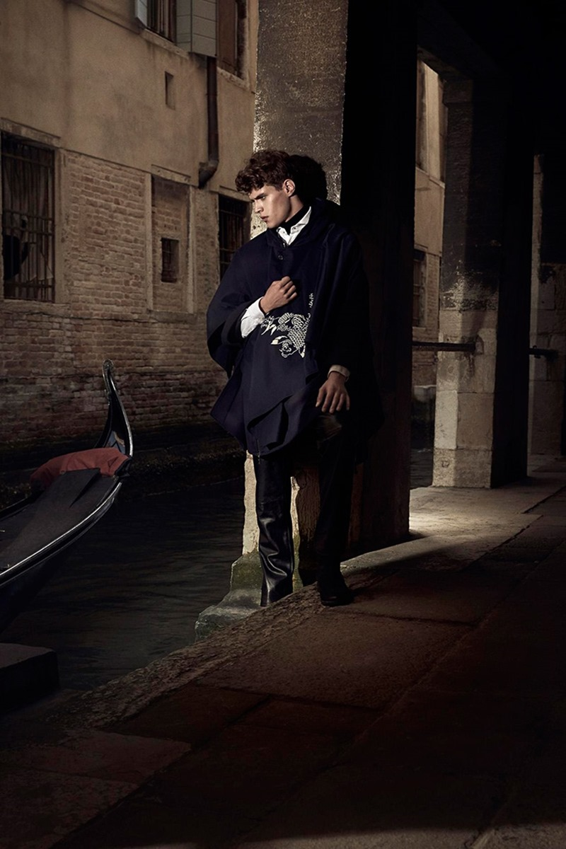 GENTLEMAN ITALIA Jordy Baan by Giovanni Squatriti. Gioia Carrozzi, Summer 2016, www.imageamplified.com, Image Amplified11