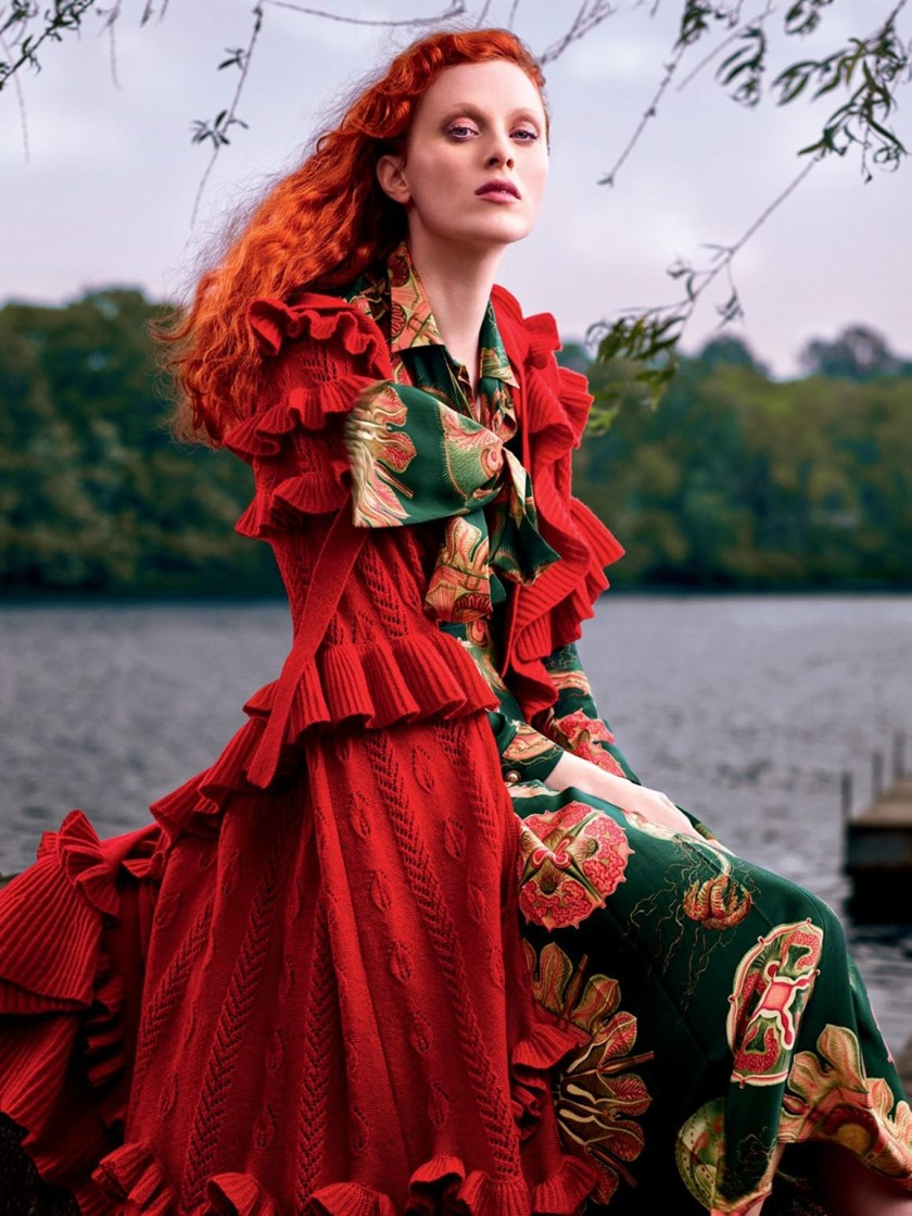HARPER'S BAZAAR RUSSIA Karen Elson by Rachel Smith. Anna Katsanis, August 2016, www.imageamplified.com, Image Amplified1