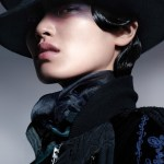 VOGUE CHINA: Chiharu Okunugi by Benjamin Lennox