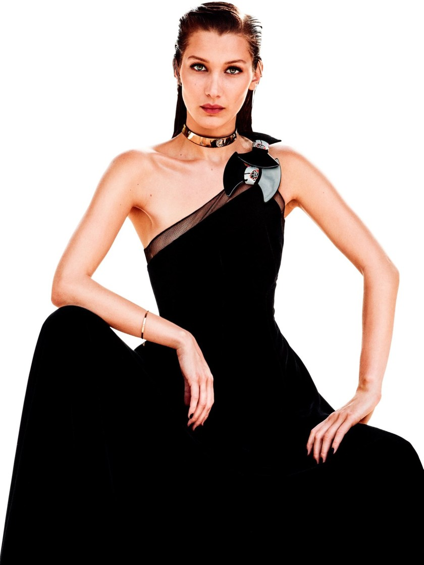 VOGUE JAPAN Bella Hadid by Giampaolo Sgura. Anna Dello Russo, September 2016, www.imageamplified.com, Image Amplified1