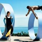 VOGUE MAGAZINE: Gigi Hadid & Ashton Eaton by Mario Testino