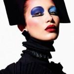 VOGUE PARIS: Face Art by Mario Sorrenti