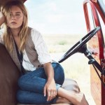 CAMPAIGN: Camille Rowe for Mango Fall 2016