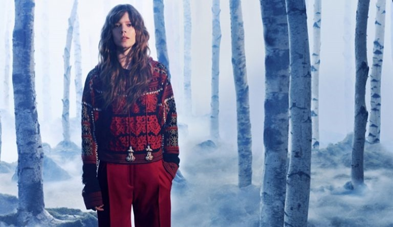 CAMPAIGN Freja Beha Erichsen for H&M Studio Fall 2016 by Daniel Jackson. www.imageamplified.com, Image Amplified (4)