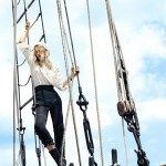 HARPER'S BAZAAR MAGAZINE: Toni Garrn by Daniel Riera