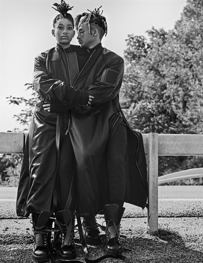 INTERVIEW MAGAZINE Jaden Smith & Willow Smith by Steven Klein. Karl Templer, September 2016, www.imageamplified.com, Image Amplified (3)
