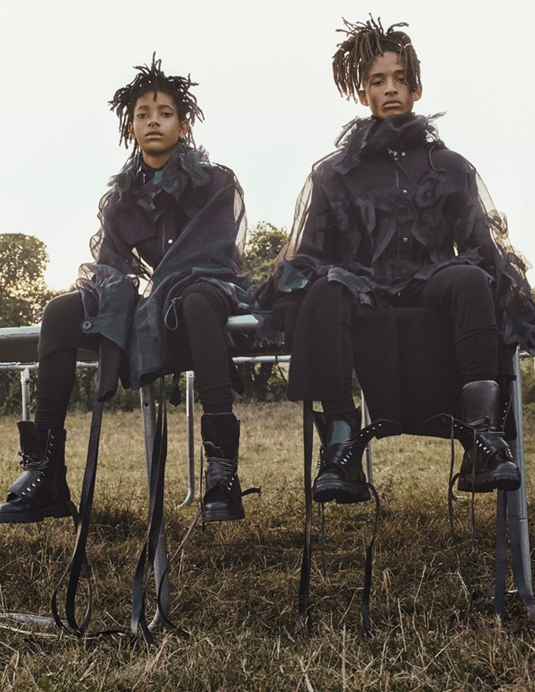 INTERVIEW MAGAZINE Jaden Smith & Willow Smith by Steven Klein. Karl Templer, September 2016, www.imageamplified.com, Image Amplified (10)