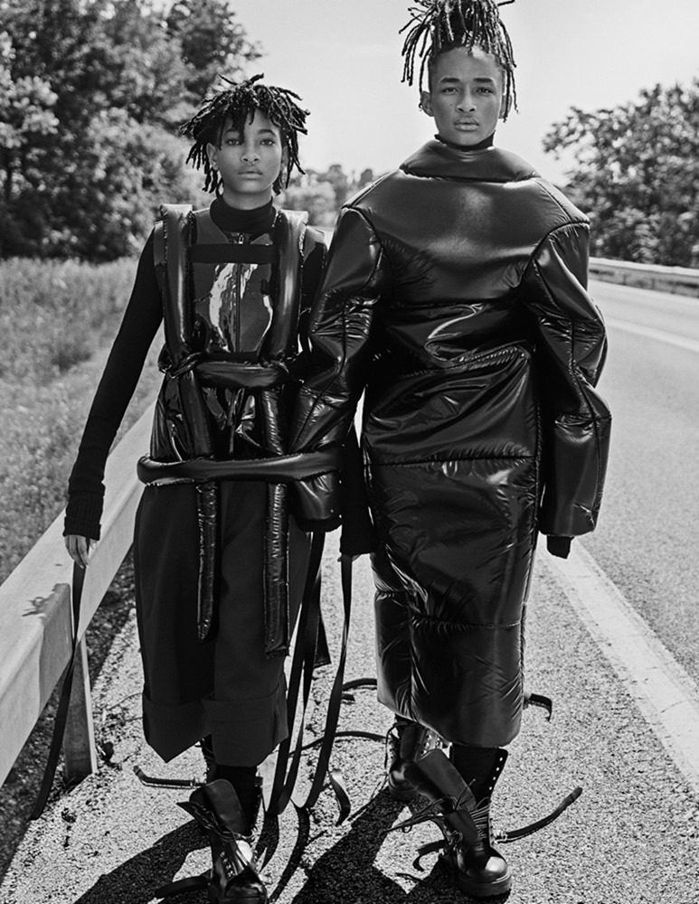 INTERVIEW MAGAZINE Jaden Smith & Willow Smith by Steven Klein. Karl Templer, September 2016, www.imageamplified.com, Image Amplified (11)