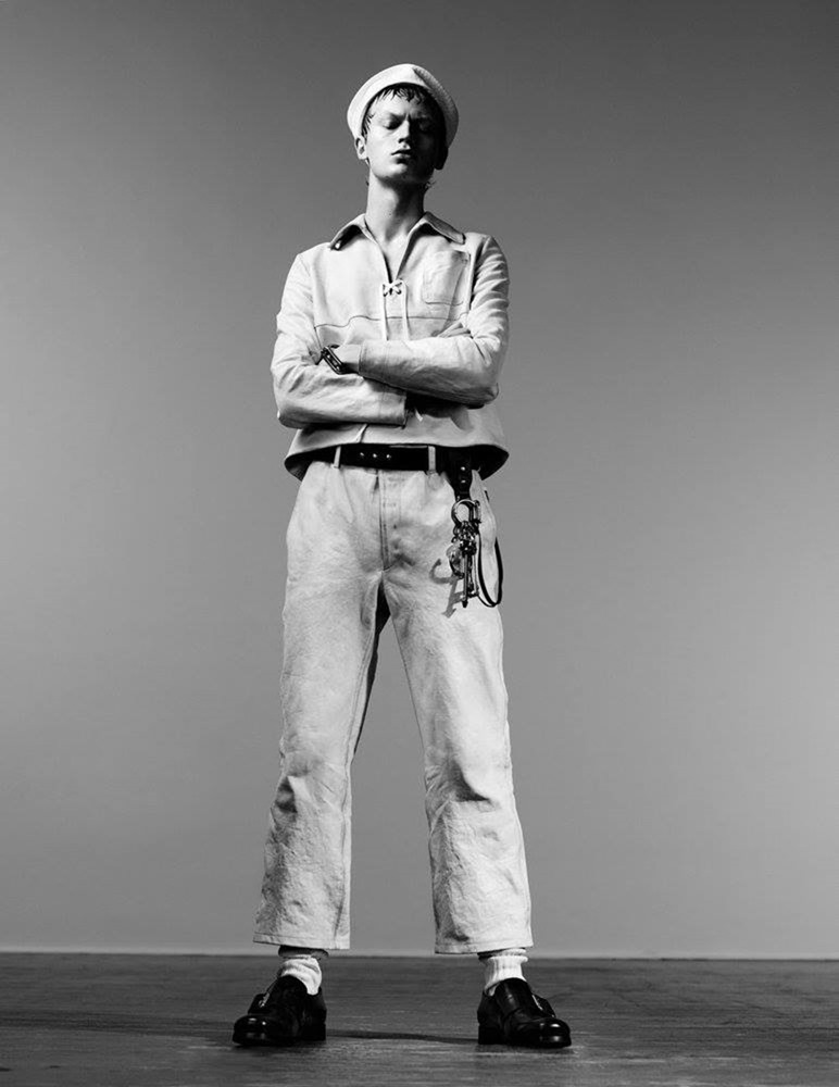 MAN ABOUT TOWN Cargo de nuit by Willy Vanderperre. Olivier Rizzo, Fall 2016, www.imageamplified.com, Image Amplified (6)