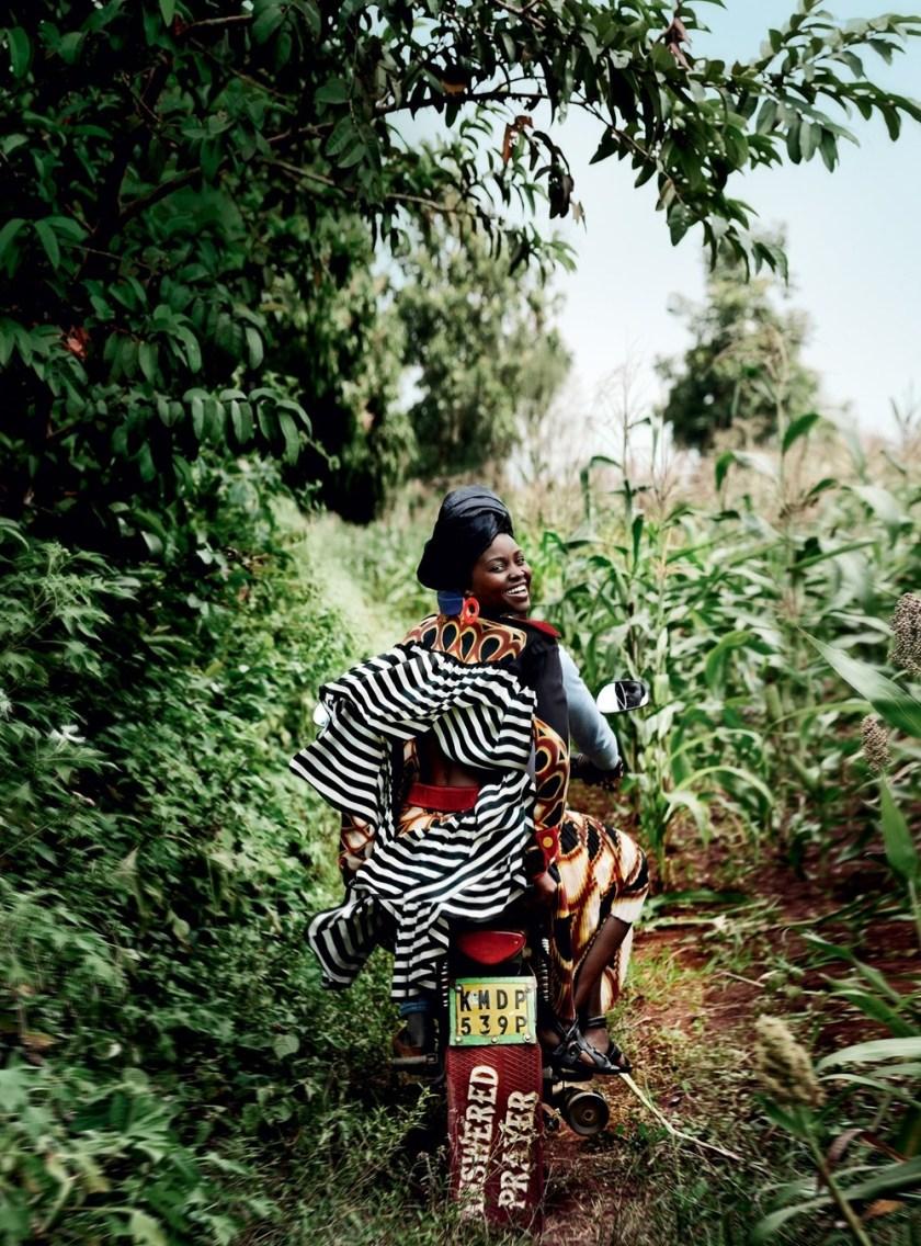VOGUE MAGAZINE Lupita Nyong'o by Mario Testino. Tonne Goodman, October 2016, www.imageamplified.com, Image Amplified (12)