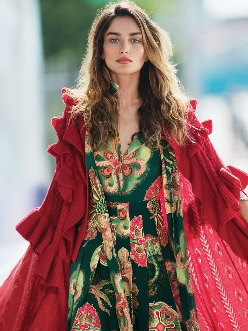 VOGUE MEXICO Andreea Diaconu by Gilles Bensimon. Sarah Gore Reeves, September 2016, www.imageamplified.com, Image Amplified (1)