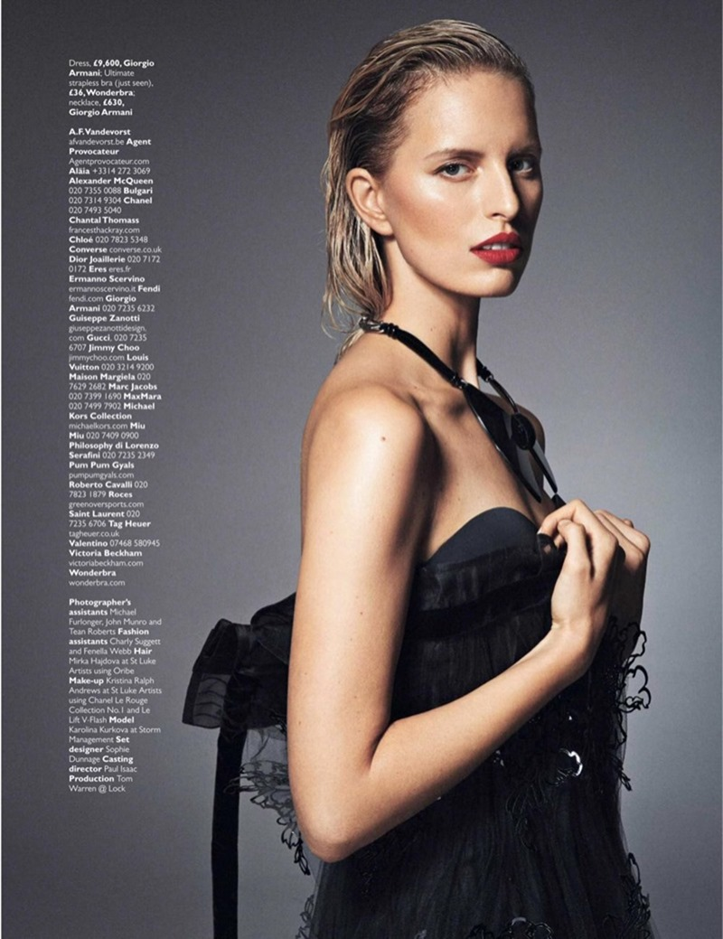 GRAZIA UK Karolina Kurkova by Alex Bramall. Natalie Wansbrough Jones, September 2016, www.imageamplified.com, Image Amplified (14)
