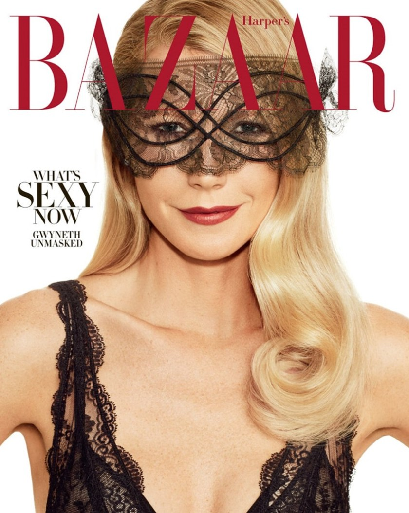 HARPER'S BAZAAR MAGAZINE Gwyneth Paltrow by Alexi Lubomirski. Joanna Hillman, November 2016, www.imageamplified.com, Image Amplified1