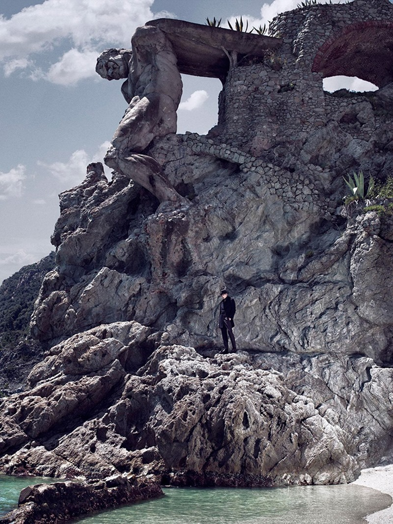 THE RAKE MAGAZINE Dominik Bauer by Giovanni Squatriti. Gioele Panedda, Fall 2016, www.imageamplified.com, Image Amplified3