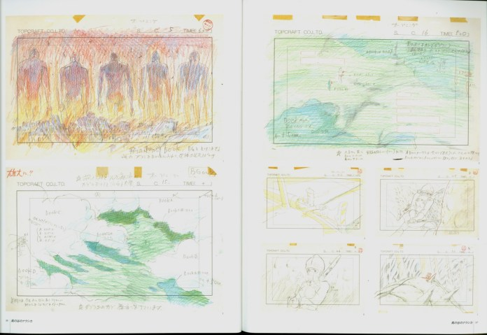 nausicaa_of_the_valley_of_the_wind_concept_art_storyboard_02