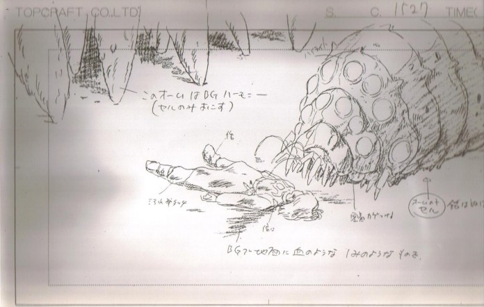 nausicaa_of_the_valley_of_the_wind_concept_art_storyboard_16