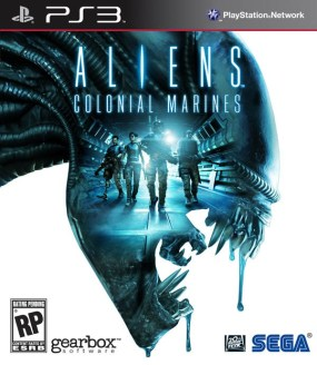 Aliens: Colonial Marines Boxart Cover