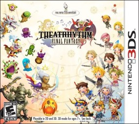 Theatrhythm Final Fantasy Boxart Cover