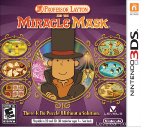 Professor Layton and the Miracle Mask Boxart Cover