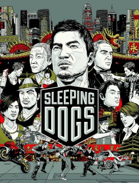 Sleeping Dogs Boxart Cover