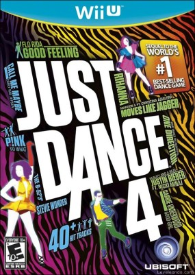 Just Dance 4 Boxart Cover