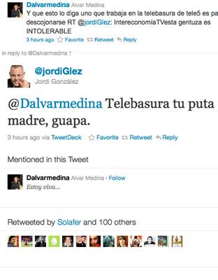 El tweet que desató la crisis en el Caso La noria